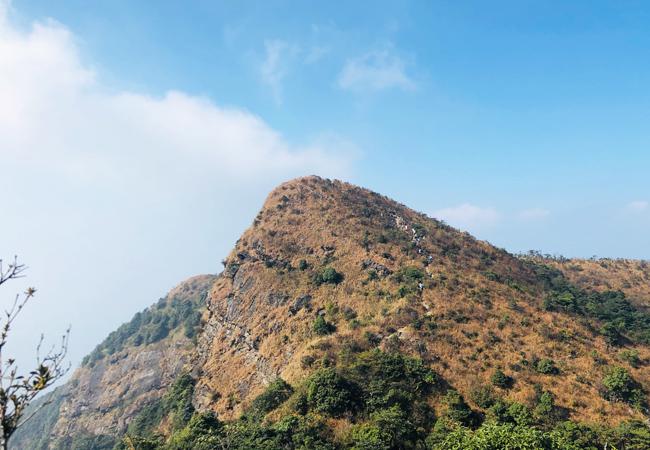 【广州第一峰】勇登穿越南昆山主峰天堂顶  第3期 12月21日